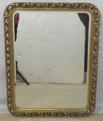 Decorative Ornate Gilt Framed Hanging Wall Mirror